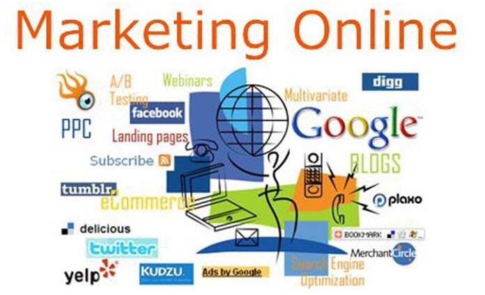 Công việc Marketing Online.