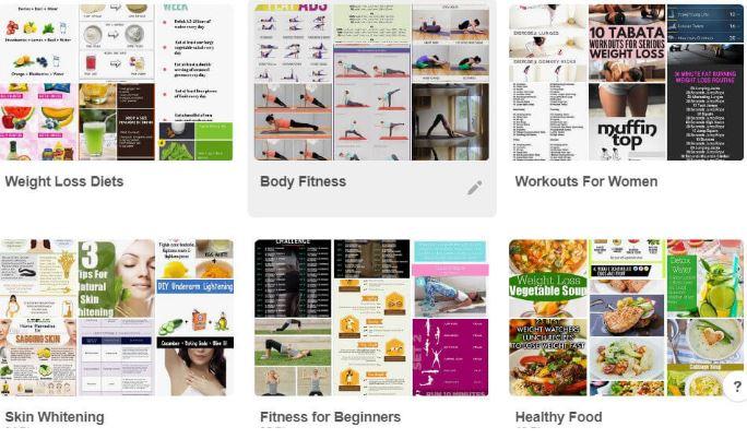 Một số hình ảnh trên Pinterest.