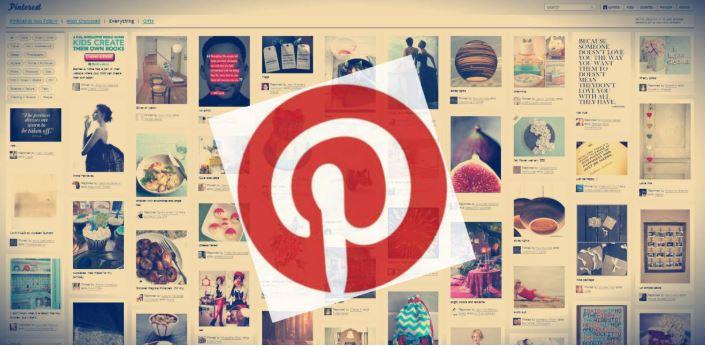 Mạng xã hội Pinterest.