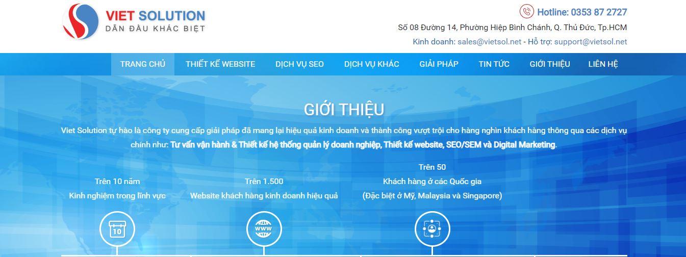Công ty SEO Viet Solution