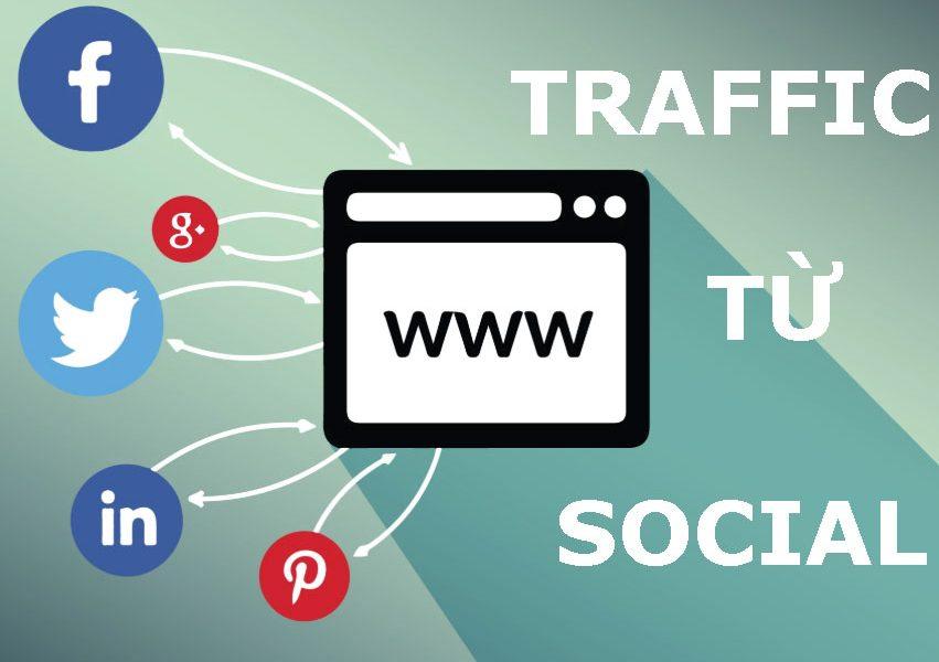Lấy traffic từ social