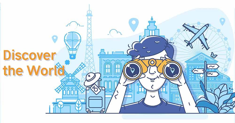 Thiết kế web du lịch giúp tăng tương tác trên nhiều kênh khác nhau