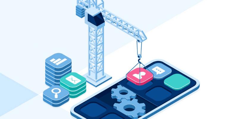 xây dựng app bán hàng